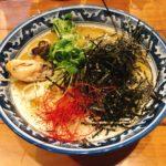 牡蠣・拉麺@麺や 佐市